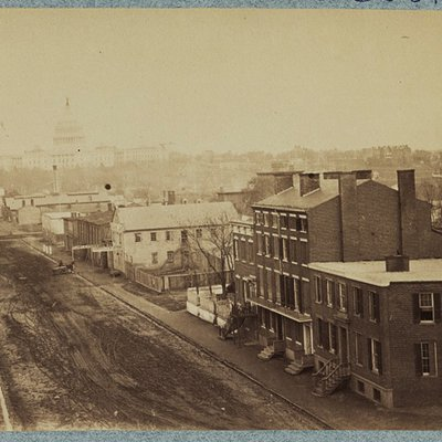 Photo of Washington DC in the 1870's 0301_0602
