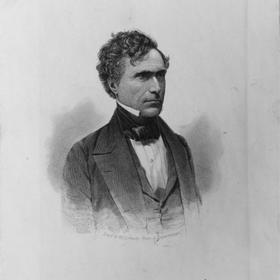 Drawing of President Franklin Pierce