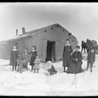 Sod House in the Winter 0701_0401