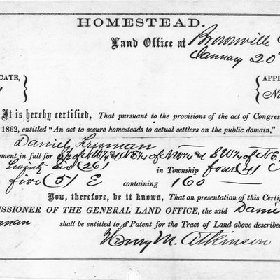 Daniel Freeman's Homestead Act 0702_0602