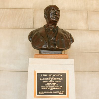 J. Sterling Morton Bust 0703_0502