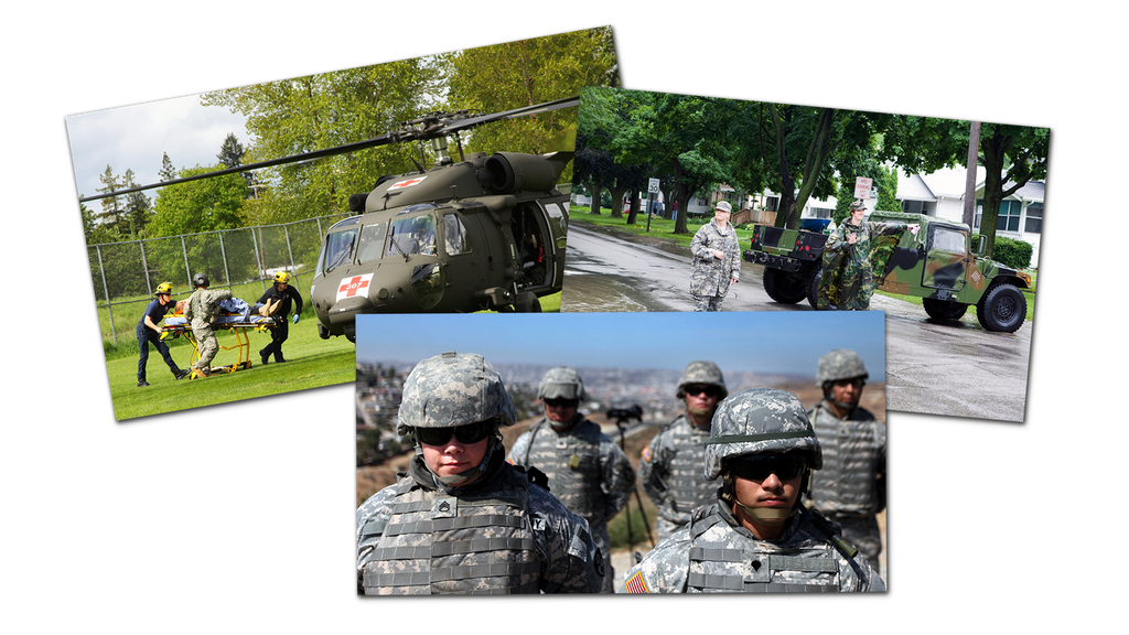 Montage of the National Guard 0902_0401